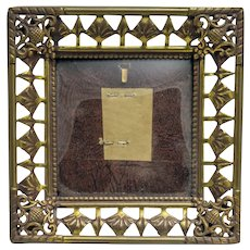 Vintage Ornate Miniature Picture Frame