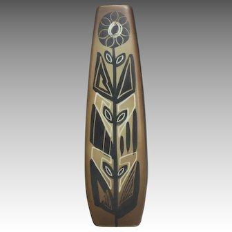 Sunflower Vase From Soholm Ceramics, Denmark