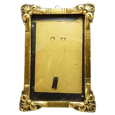 Vintage  Gilded Wood Picture Frame