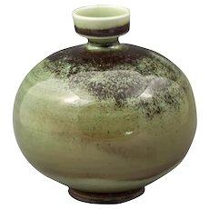 Berndt Friberg Gustavberg Green Ball Vase