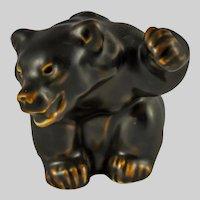 Royal Copenhagen Bear Cub Figurine by Knud Kyhn 21433