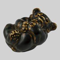 Royal Copenhagen Bear Cub Figurine by Knud Kyhn 21434
