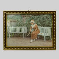 Framed Print Paul Gustav Fischer's 1912 Work, I Tanker