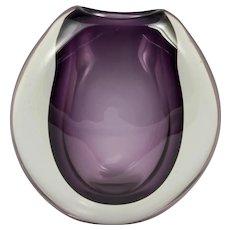 Holmegaard Per Lutkin Sommerso Glass Vase