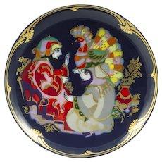 Bjorn Wiinblad Porcelain  Rosenthal Series  Magic Horse Plate 1