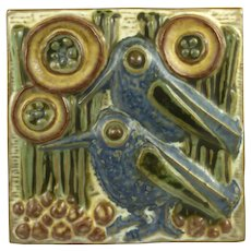 Michael Andersen & Son Wall Plaque by Marianne Starck