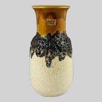 Bay, Germany Vintage Fat Lava Vase