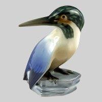 Bing & Grondahl Bird Figurine Kingfisher