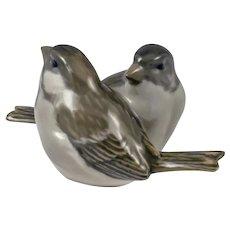 Royal Copenhagen Figurine Pair of  Sparrows
