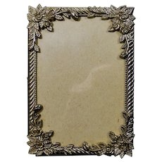 Vintage Ornate Metal Picture Frame