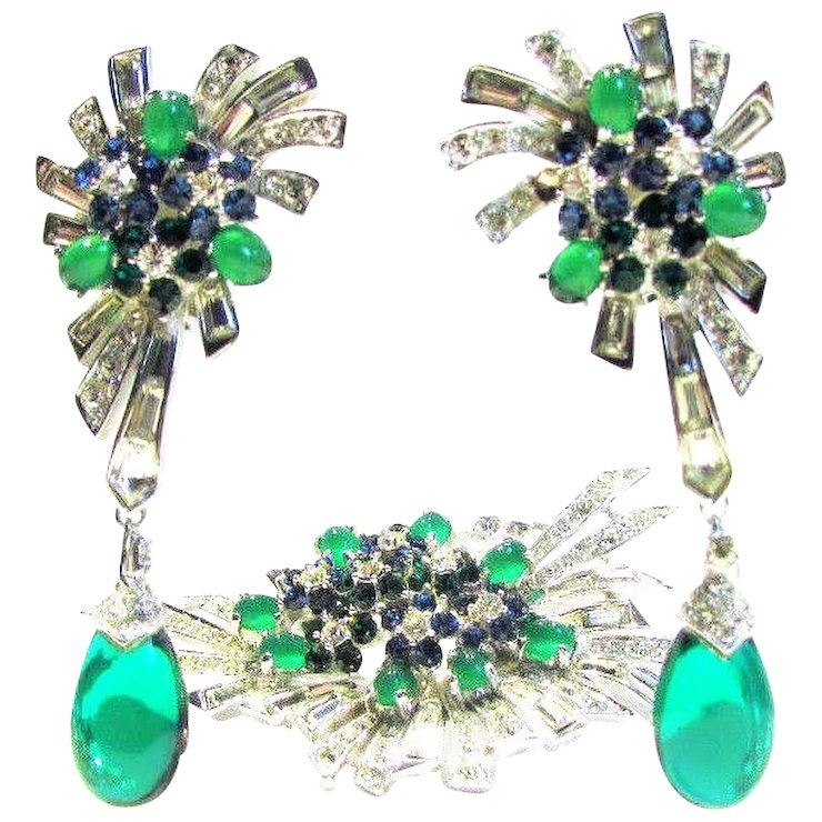 fine jewelry diamond style sapphire emerald description gold ruby and estate htm earrings