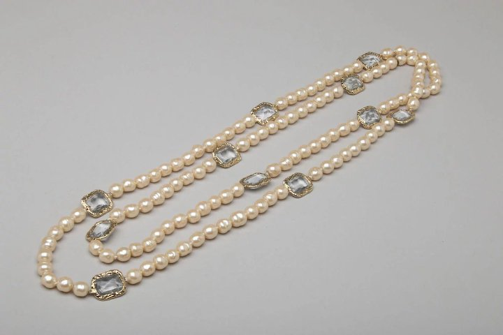 strand real beads big genuine item quality freshwater strands pearl pearls super baroque diy