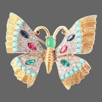JOMAZ Bejeweled Butterfly Pin