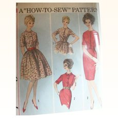 Vintage Sewing: 1960's Mad Men Era Dresses, How To Sew SALE!