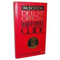 Vintage Mr. Boston Official Bartender's Guide, 1978