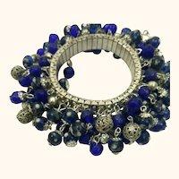 Vintage 1970s Expansion Cha-Cha Charms Bracelet SALE