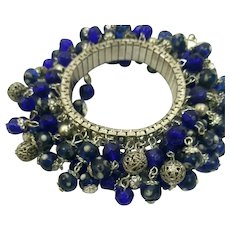 Vintage 1970s Expansion Cha-Cha Charms Bracelet
