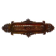 19th C Bronze Figural Pen Tray in Renaissance Manner