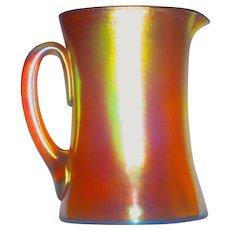 L.C. Tiffany Favrile Glass Golden Iridescent Pitcher