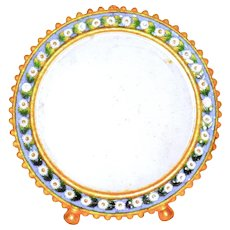 Vintage Micro Mosaic Quality Ormolu Miniature Picture Frame