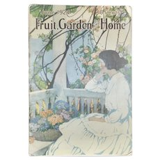 """1924 Issue of """"Fruit Garden and Home"""" Magazine"""