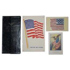 5 WWII Paper items - Postcard - War Bond Folder