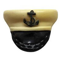 Vintage WWII Naval Hat Pin Sweetheart Jewelry