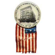 1918 Columbus Ohio Pinback