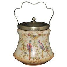Antique A.G. Richardson & Co. Ducal Crown Ware Biscuit Jar