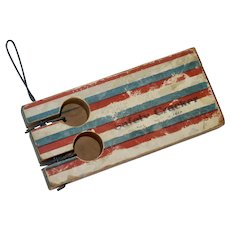 """1916 """"Safety Cracker"""" Victorian 4th of July Noise Maker"""