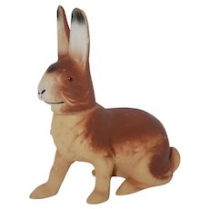 Vintage Easter Rabbit Candy Container