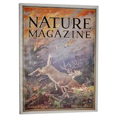 August 1928 Issue of Nature Magazine