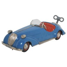 1950 Germany - Toy Distler BMW Four-Gear Wanderer Convertible - D-3150 - Excellent & Working