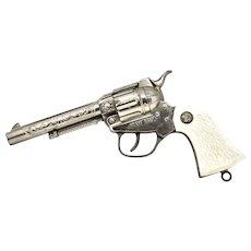 This Vintage Wyatt Earp Die Cast Cap Gun