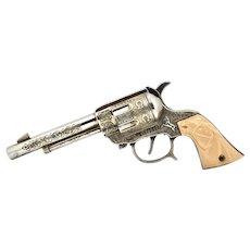 Vintage Wild Bill Hickok Die Cast Cap Gun