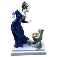 "Rosenthal ""From Faraway Fairyland"" by Ferdinand Liebermann Figurine"