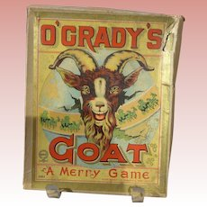 1906 Milton Bradley Game O'Grady's Goat Complete with Directions