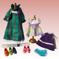 NIce IDEAL CRISSY & VELVET Original Dresses, Matching Panties, Clothes & Shoes