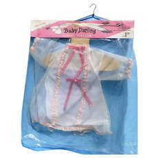 """MIP Early 60s  Baby Darling Dress Fits Thumbelina and 16-17"""" dolls"""