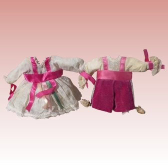 Vintage Pair Ginny Outfits Hansel and Gretel