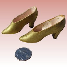 French Boudoir Doll Shoes 1920s