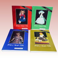 Complete Set 4 Volumes Modern Collectors Dolls Pat Smith Super Condition