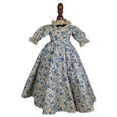 "Vintage 40s Tagged Madame Alexander Doll MEG Dress 15"""