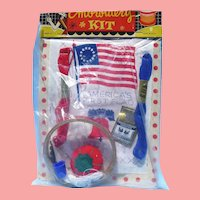 MIP 1950s Child's Flag Embroidery Kit