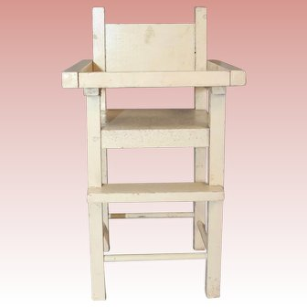 Original 1930s Madame Alexander Dionne Quintuplets Doll High Chair!