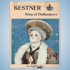 Kestner Doll Reference Book Signed Jan Foulke