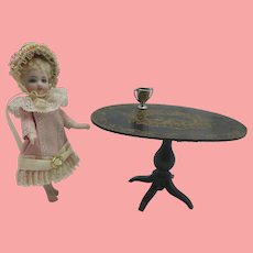 Miniature Sterling Trophy For All Bisque, Mignonette or Doll House
