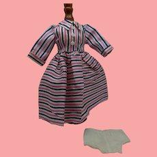 1950s Taffeta Doll Dress for Tall  Lady Doll