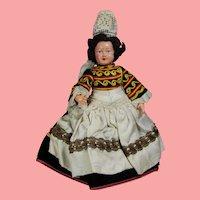 Vintage Brittany, France Bretagne Doll Le Minor Petitcollin Celluloid!
