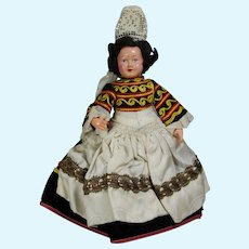 Vintage Brittany, France Bretagne Doll Le Minor Petitcollin Celluloid!